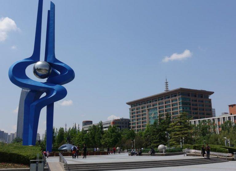 济南泉城广场地标